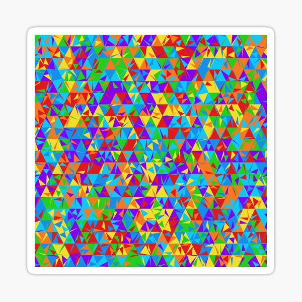Dulled Air Ioniser (rainbow colors) Sticker