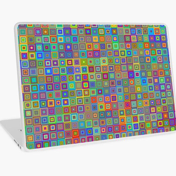 Tectonic Thermal Mass Refrigerator (rainbow) Laptop Skin
