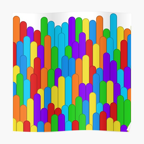 Insolent Formality (rainbow colors) Poster