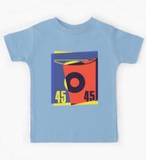 Pop Art 45 Vinyl Record Kids Clothes