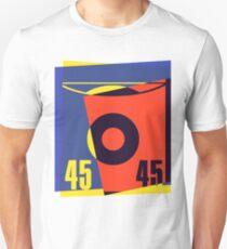 Pop Art 45 Vinyl Record T-Shirt