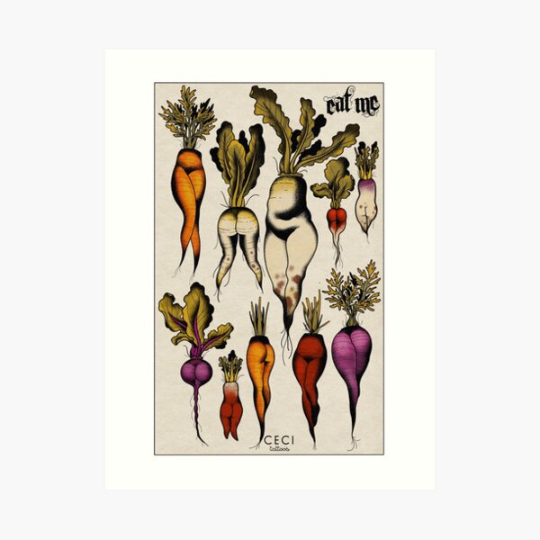 Don't forget your roots Art Print