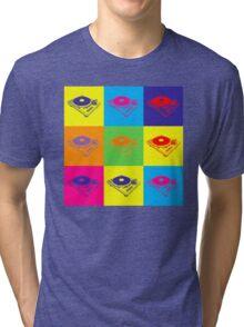 Pop Art 1200 Turntable Tri-blend T-Shirt