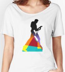 Pop Art Guitar Rocker Women's Relaxed Fit T-Shirt
