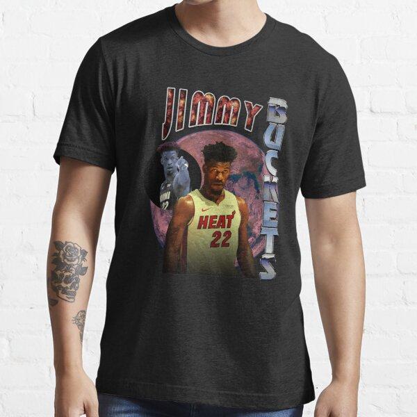 Jimmy Buckets Miami Heat Vintage Style Rap Tee Essential T-Shirt
