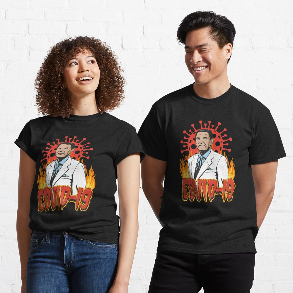 Covid-19 The Wind Of God Preacher WTFBrahh Classic T-Shirt