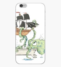 Kraken in the Tub iPhone Case