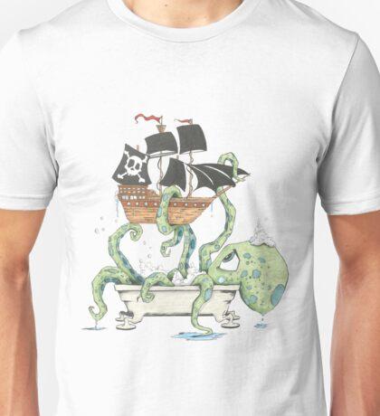 Kraken in the Tub Unisex T-Shirt