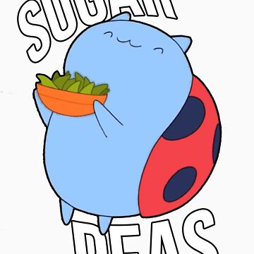 Catbug -- Sugar Peas!! by cornelljacob