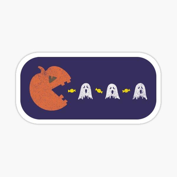 Halloween Pumpkin Ghost Hunting Sticker