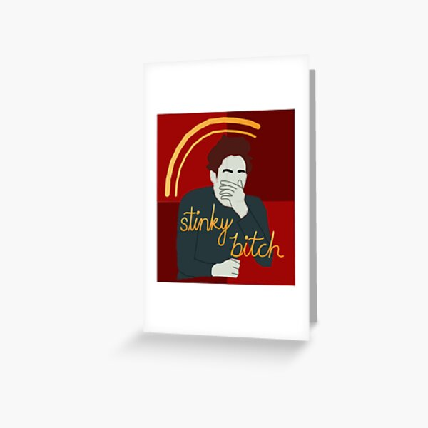 Edward Says You Smell Greeting Card