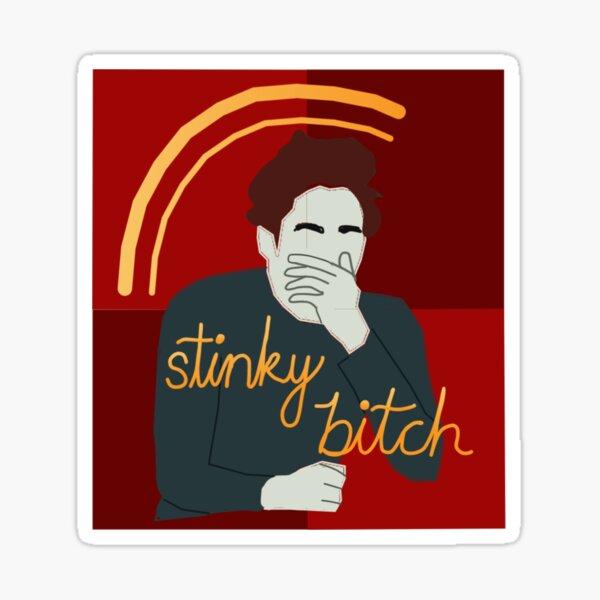 Edward Says You Smell Sticker