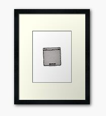Ink Gameboy Framed Print
