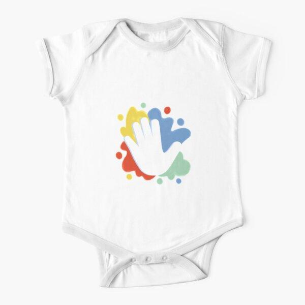 Eimaan's Artwork Short Sleeve Baby One-Piece