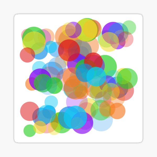 Tepid Self-Cleaning Oven (rainbow colors) Sticker