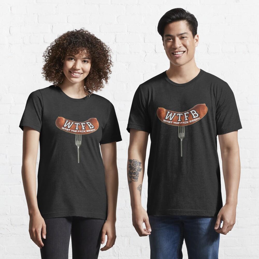 WTFBrahh Official Logo Design Essential T-Shirt