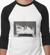 Harry Whittier Frees - The Insomniac Puppy Men's Baseball ¾ T-Shirt