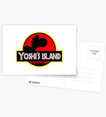 Yoshi's Island Postcards