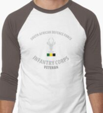 SADF Infantry Corps Veteran Men's Baseball ¾ T-Shirt