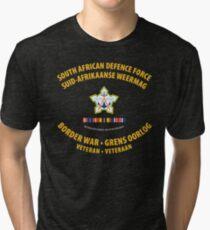 South African Defence Force Border War Veteran Tri-blend T-Shirt