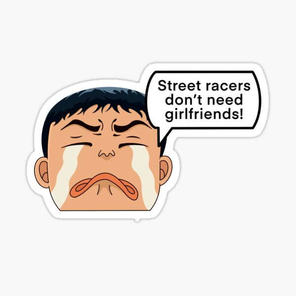 Itsuki Takeuchi Peeker  Sticker