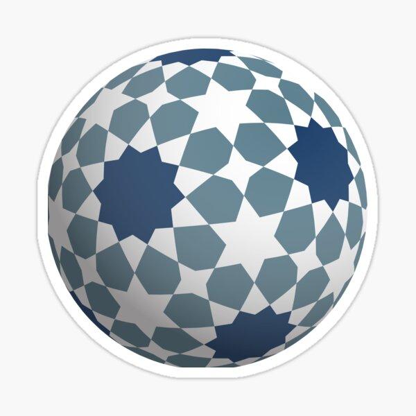Islamic star ball Sticker