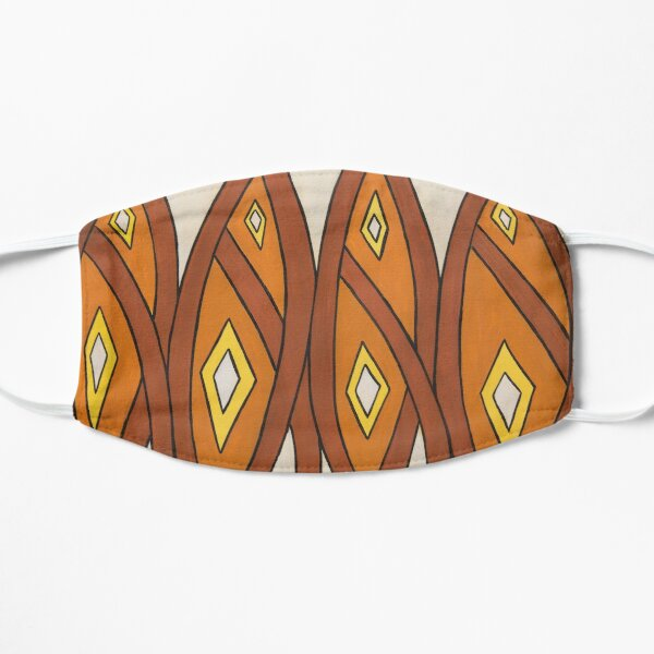 Crocodile Totem Design Mask