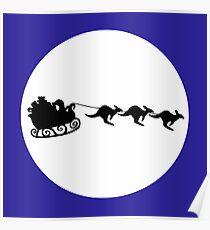 Aussie Christmas Poster