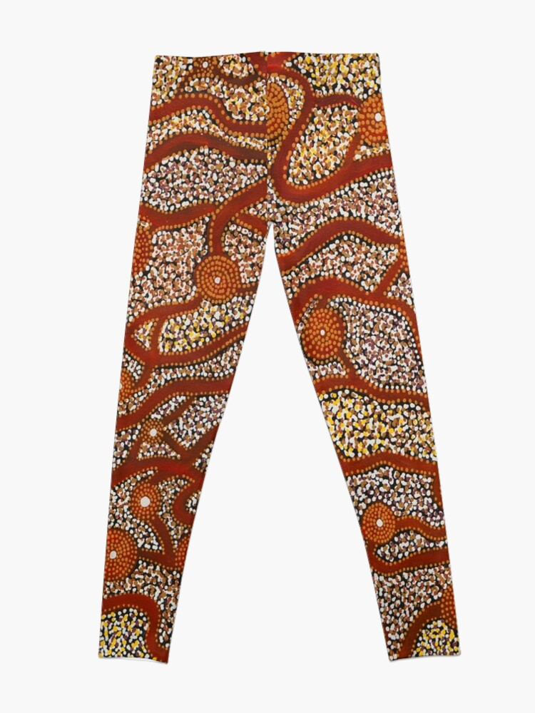 Alternate view of Majestic Mountains Leggings