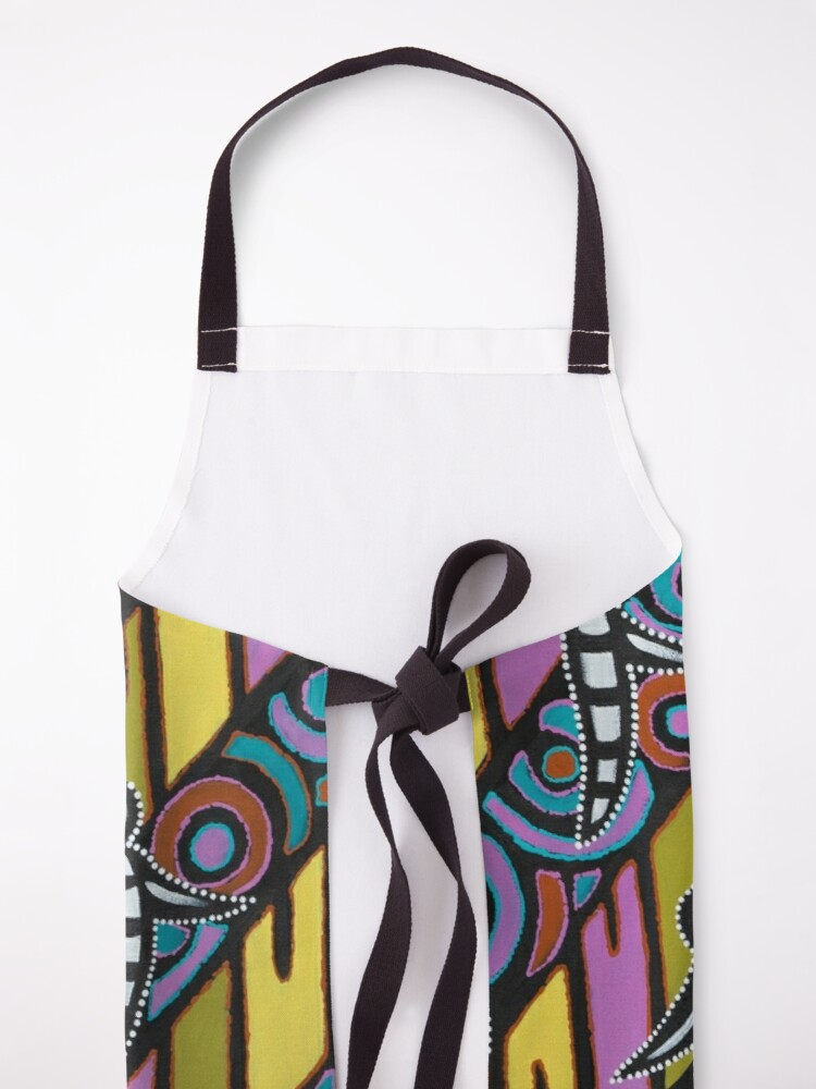 Alternate view of I am (White Cockatoo Dreaming) Apron