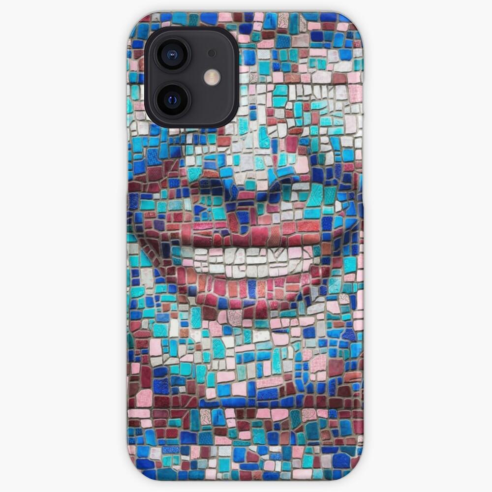 """Broken"" (mosaic tile, painted) - ""Smile"" Fine Art series iPhone Case & Cover"