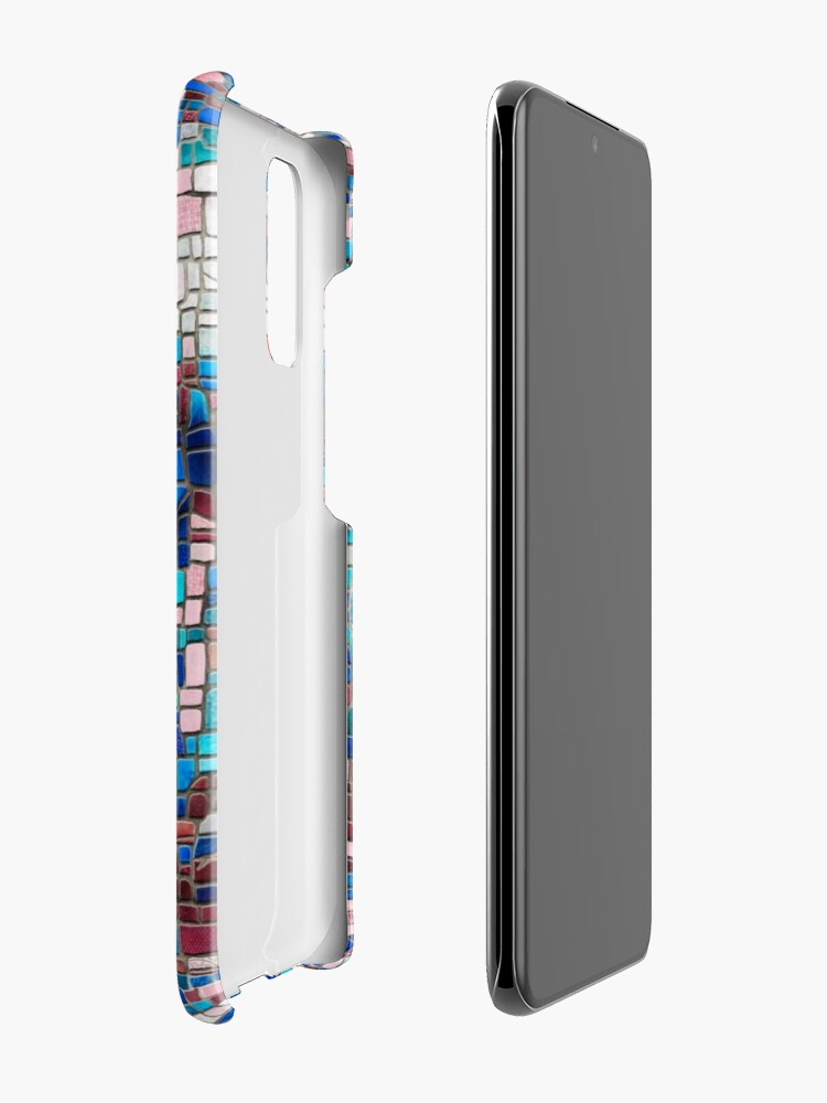 """Alternate view of """"Broken"""" (mosaic tile, painted) - """"Smile"""" Fine Art series Case & Skin for Samsung Galaxy"""
