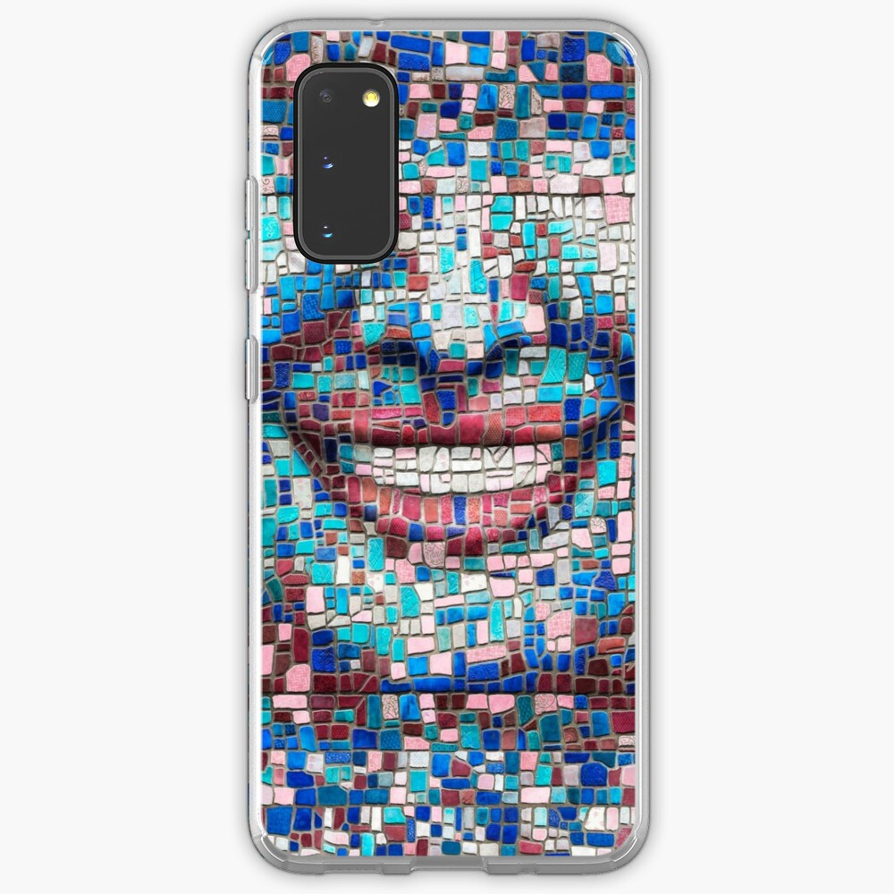 """Broken"" (mosaic tile, painted) - ""Smile"" Fine Art series Case & Skin for Samsung Galaxy"