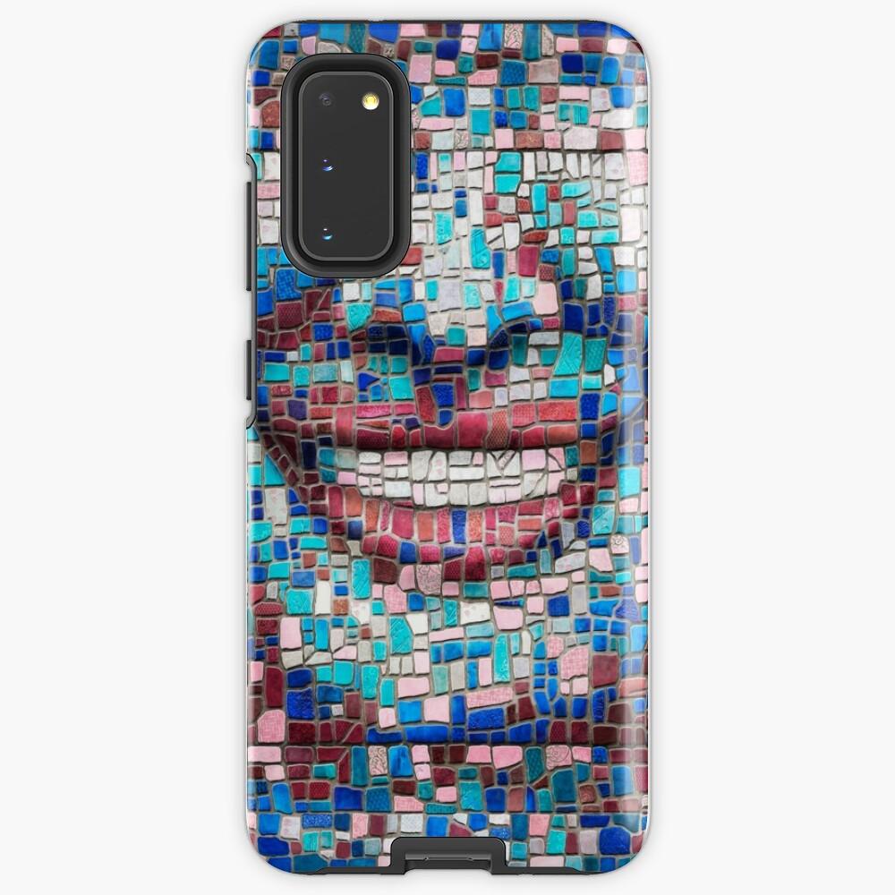 """Broken"" (mosaic tile, painted) - ""Smile"" Fine Art series Case & Skin for Samsung Galaxy"
