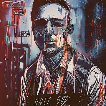 Only god forgives Drawing by Cristianvan