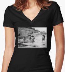 Slint - Spiderland Shirt Women's Fitted V-Neck T-Shirt