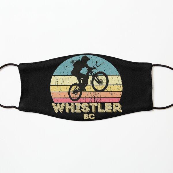 Whistler city mountain biking  Kids Mask