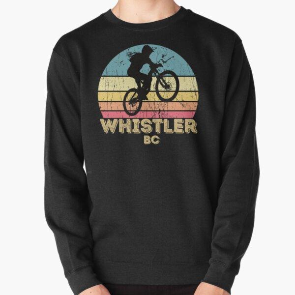 Whistler city mountain biking  Pullover Sweatshirt