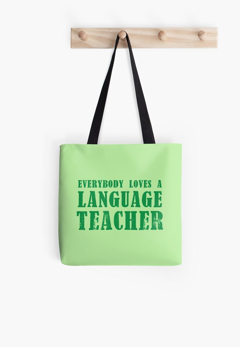 EVERYBODY LOVES A LANGUAGE TEACHER by jazzydevil