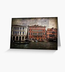 The Spirit of Venice Greeting Card