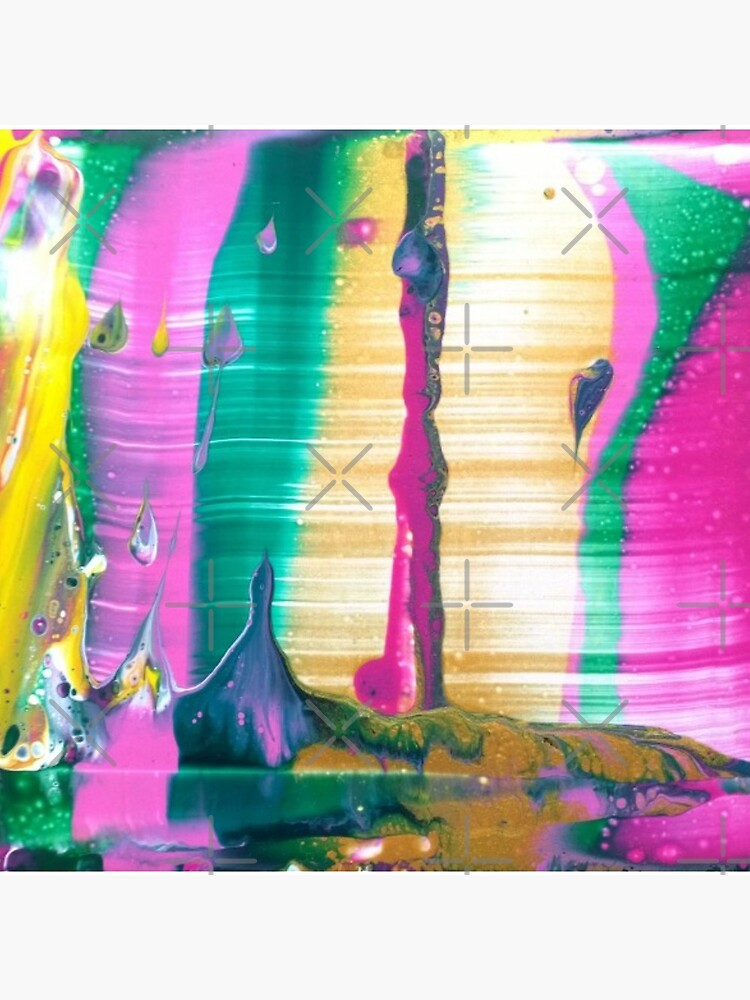 """Abstract Painting-""""Fruit Stripe""""-Abstract Art-Pop Art by Matlgirl"""