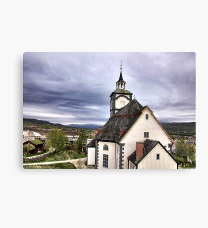 Church in the sky Canvas Print