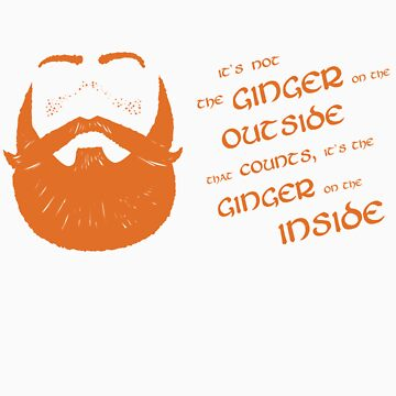 It's the ginger on the inside that counts! by lyubomir