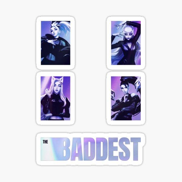 The Baddest K/DA Pack Sticker
