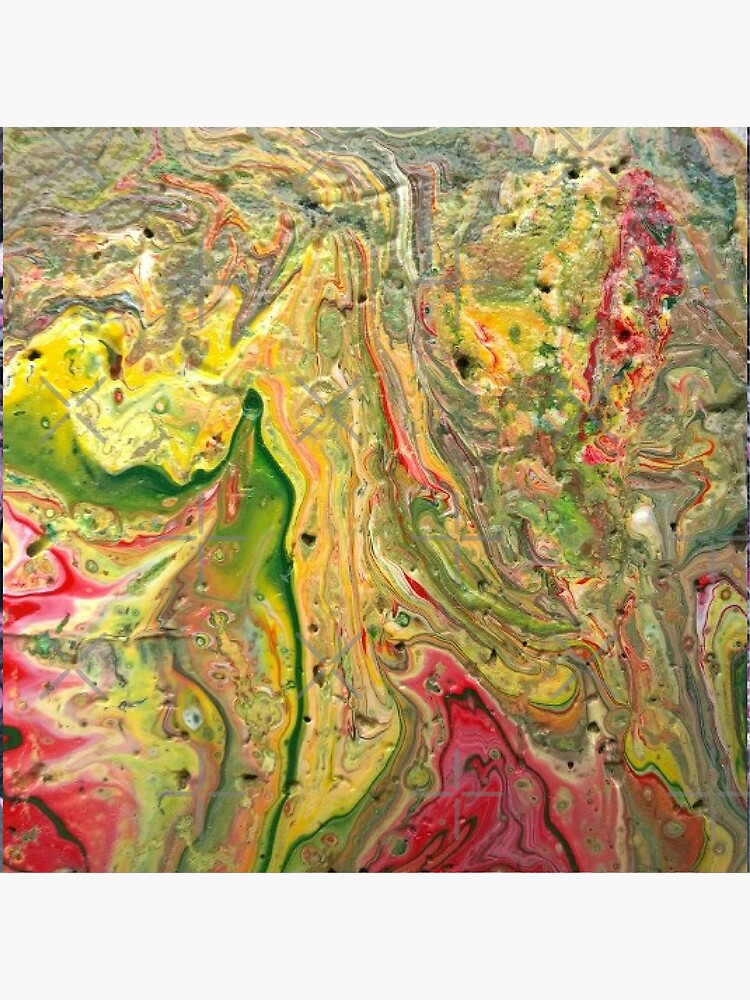 """Abstract Painting-""""Craters and Crevices""""-Abstract Art by Matlgirl"""