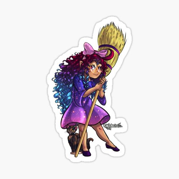 Kawaii Witch Girl Sticker