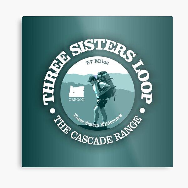 Three Sisters Loop Trail (T) Metal Print