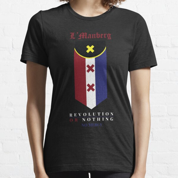 lmanberg Flag - Revolution or Nothing (no mercy) Essential T-Shirt