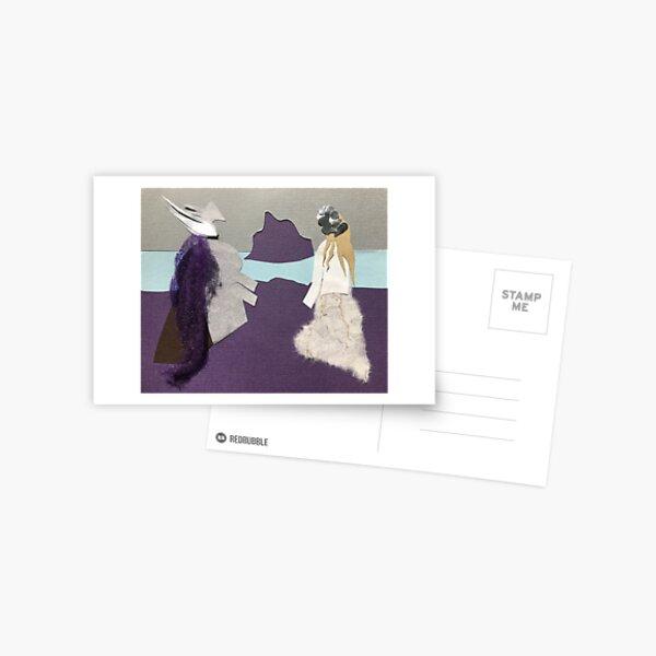 lars and sigrit Postcard
