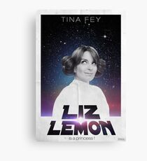 Liz Lemon is a princess ! Canvas Print